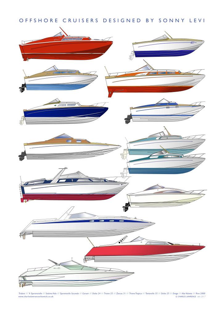 Levi cruisers 36x51 60