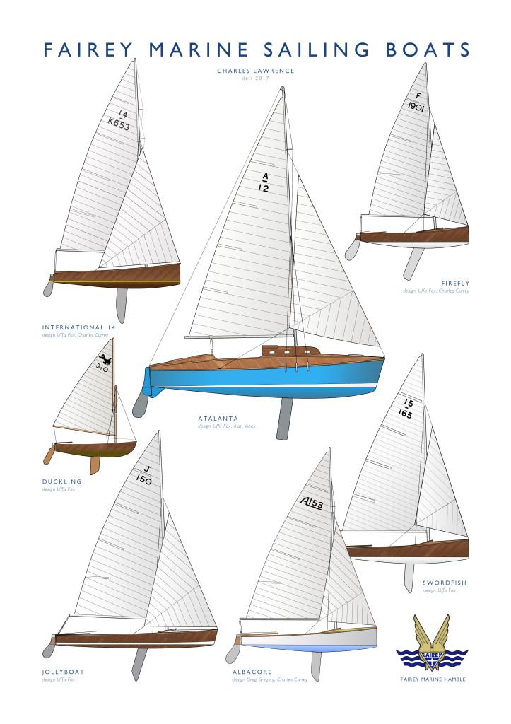 FM Sailing boats 36 x 51